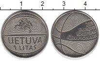 Изображение Монеты Литва 1 лит 2014 Медно-никель UNC-