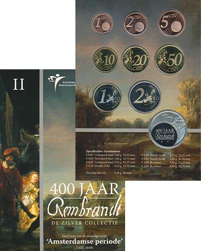 Изображение Подарочные монеты Нидерланды 400 лет Рембранту 2006  BUNC
