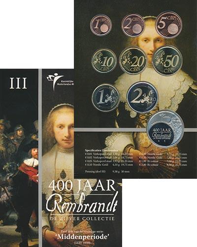 Изображение Подарочные наборы Нидерланды 400 лет Рембранту 2006  BUNC