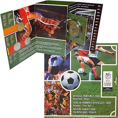Изображение Подарочные наборы Нидерланды Чемпионат Европы по футболу 2000 года 2000  UNC