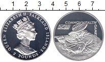 Изображение Монеты Фолклендские острова 2 фунта 1986 Серебро Proof