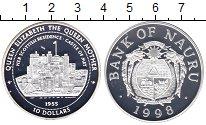 Изображение Монеты Науру 10 долларов 1998 Серебро Proof