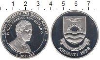 Изображение Монеты Кирибати 5 долларов 1998 Серебро Proof Королева - Мать.  50
