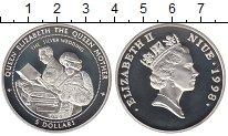 Изображение Монеты Новая Зеландия Ниуэ 5 долларов 1998 Серебро Proof