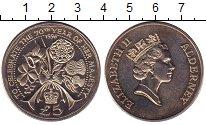 Изображение Монеты Олдерни 5 фунтов 1996 Медно-никель UNC-