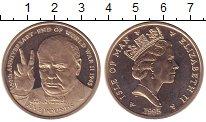 Изображение Монеты Остров Мэн 5 фунтов 1995 Латунь UNC-
