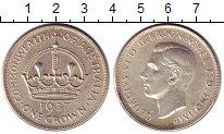 Изображение Монеты Австралия 1 крона 1937 Серебро XF+
