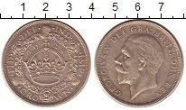 Изображение Монеты Великобритания 1 крона 1928 Серебро XF+