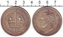 Изображение Монеты Австралия 1 крона 1937 Серебро XF