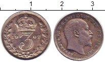Изображение Монеты Великобритания 3 пенса 1902 Серебро XF
