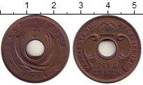 Изображение Монеты Восточная Африка 5 центов 1936 Бронза UNC-