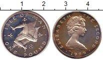 Изображение Монеты Остров Мэн 1 фунт 1979 Серебро Proof-
