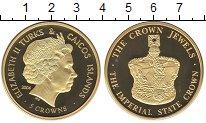Изображение Монеты Великобритания Теркc и Кайкос 5 крон 2004 Медно-никель Proof