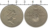 Изображение Монеты Великобритания 2 фунта 1994 Латунь UNC-