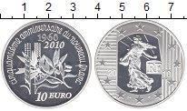 Изображение Монеты Франция 10 евро 2010 Серебро Proof-