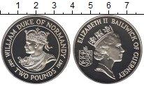Изображение Монеты Гернси 2 фунта 1987 Серебро Proof