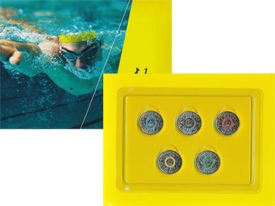 Изображение Подарочные монеты Австралия Олимпийская сборная Австралия 2016 Латунь UNC Набор из пяти монет
