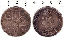 Изображение Монеты Великобритания 2 флорина 1887 Серебро XF