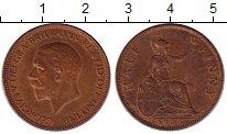 Изображение Монеты Великобритания 1/2 пенни 1935 Бронза XF