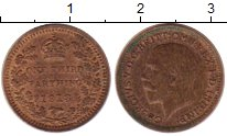 Изображение Монеты Великобритания 1/3 фартинга 1913 Бронза XF Георг V