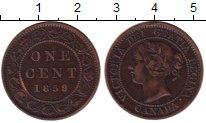 Изображение Монеты Канада 1 цент 1859 Медь XF