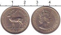 Изображение Монеты Маврикий 1/2 рупии 1971 Медно-никель UNC