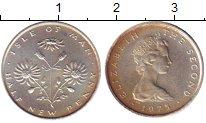 Изображение Монеты Остров Мэн 1/2 пенни 1975 Медно-никель UNC-