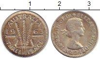 Изображение Монеты Австралия 3 пенса 1963 Серебро XF