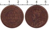 Изображение Монеты Канада 1 цент 1919 Бронза XF