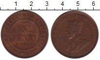 Изображение Монеты Австралия 1 пенни 1921 Бронза XF