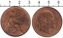 Изображение Монеты Великобритания 1 пенни 1902 Бронза XF Эдуард VII