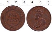 Изображение Монеты Австралия 1 пенни 1919 Бронза XF Георг V