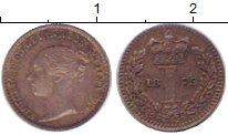 Изображение Монеты Великобритания 1 пенни 1875 Серебро XF-