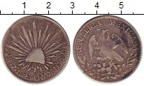 Изображение Монеты Мексика 2 реала 1843 Серебро XF