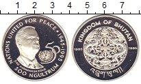 Изображение Монеты Бутан 300 нгултрум 1995 Серебро Proof