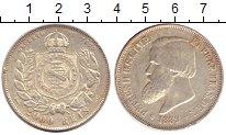 Изображение Монеты Бразилия 2000 рейс 1889 Серебро XF