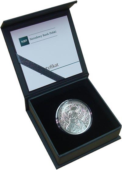Изображение Подарочные монеты Польша 10 злотых 2017 Серебро Proof 200 лет Национальном
