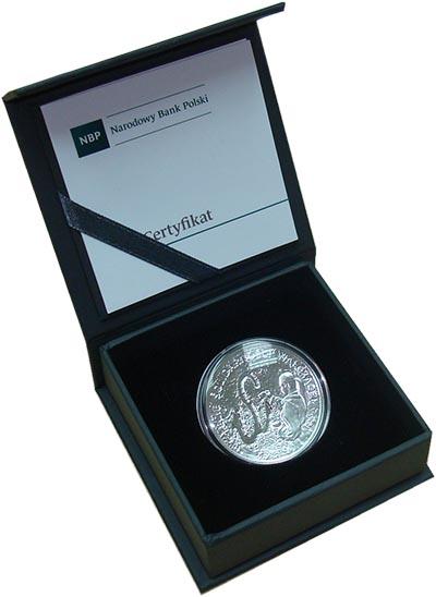 Изображение Подарочные монеты Польша 10 злотых 2017 Серебро Proof 35 лет борьбы профсо