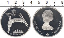 Изображение Монеты Канада 20 долларов 1986 Серебро Proof-