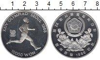 Изображение Монеты Южная Корея 10000 вон 1986 Серебро Proof-
