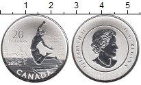 Изображение Монеты Канада 20 долларов 2014 Серебро UNC-