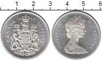 Изображение Монеты Канада 50 центов 1966 Серебро UNC