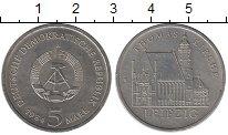 Изображение Монеты ГДР 5 марок 1984 Медно-никель UNC