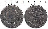 Изображение Монеты Великобритания Карибы 10 долларов 1981 Медно-никель UNC