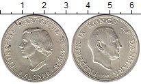 Изображение Монеты Дания 2 кроны 1958 Серебро UNC-