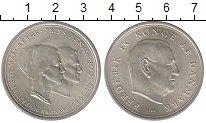 Изображение Монеты Дания 10 крон 1967 Серебро UNC- Фредерик IX.  Свадьб
