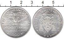 Изображение Монеты Ватикан 500 лир 1978 Серебро UNC