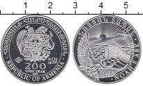 Изображение Монеты Армения 200 драм 2014 Серебро UNC-