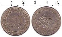 Изображение Монеты Камерун 100 франков 1971 Медно-никель XF+