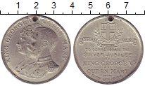 Изображение Монеты Великобритания Медаль 1935 Олово XF- 25 лет правления Гео
